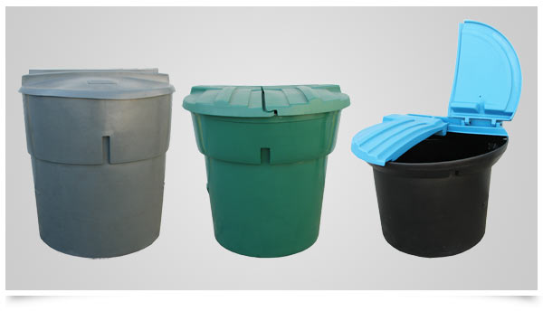 Gallon Refuse Containers